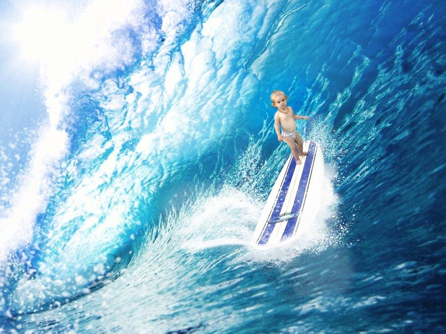 Kilpailutyö #16 kilpailussa SURFING BABY!