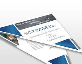 #21 for Design a Brochure for Nite Scapes af irfanzstudio