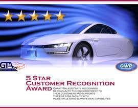 #18 untuk Illustrate Something for 5 Star Customer Recognition Award oleh bulutbebek