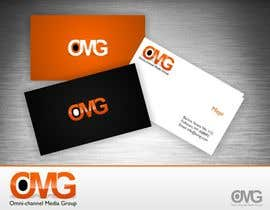#93 para Design a Logo & style guide for Omni-Channel Media Group (O.M.G) por trying2w