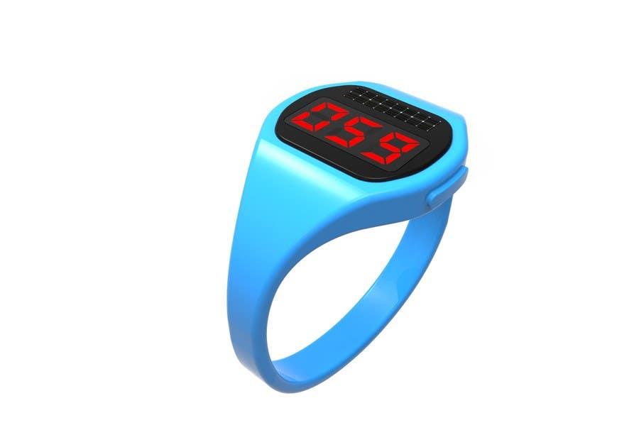 Penyertaan Peraduan #42 untuk Design me a digital counting wristband