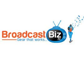 "#31 untuk Design a Company Logo and mascot for ""BroadcastBiz.tv"" oleh georgeecstazy"