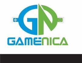 #22 untuk Bir Logo Tasarla for GAMENICA oleh weblionheart
