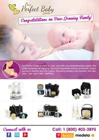 #10 for Design a Tri-Fold, Bi-Fold, business card template and 1 page brochure for our company: Our Perfect Baby. af msdvenkat