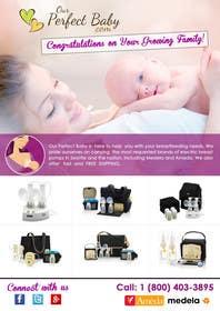 Nro 10 kilpailuun Design a Tri-Fold, Bi-Fold, business card template and 1 page brochure for our company: Our Perfect Baby. käyttäjältä msdvenkat