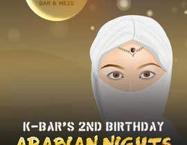 "#28 cho Design a Flyer/Poster for ""ARABIAN NIGHTS"" Theme Event bởi dani786"