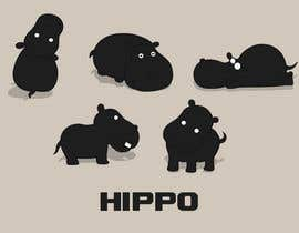 #6 untuk Design some Icons for Hippo with similar style. oleh mirandalengo