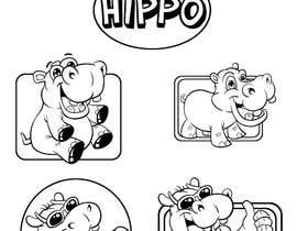 #4 untuk Design some Icons for Hippo with similar style. oleh Roystenmania
