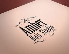 Nro 36 kilpailuun Design a logo amber hair studio käyttäjältä ganiix1