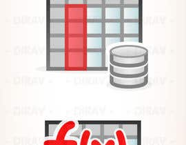 nº 12 pour Design some Icons for database icon set par dirav