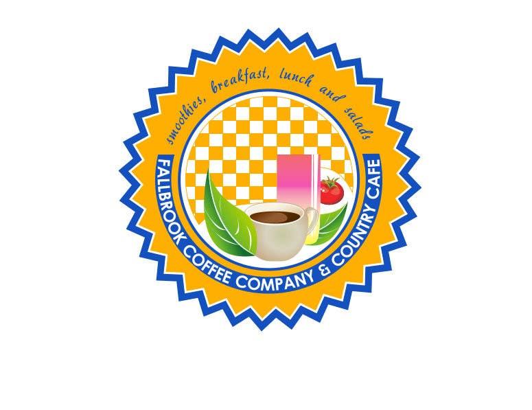 Penyertaan Peraduan #62 untuk Fallbrook Coffee Company Logo