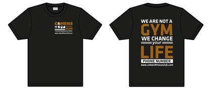 eliascurtis tarafından Design a T-shirt for VIP Fitness Club için no 1