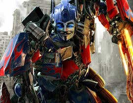 #4 for V FOR VENDETTA    VS    OPTIMUS PRIME af Ashmaroli
