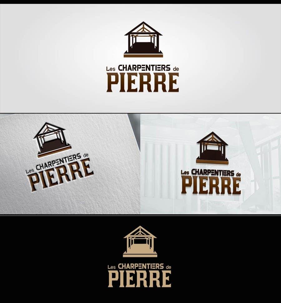 Konkurrenceindlæg #12 for LES CHARPENTIERS DE PIERRE