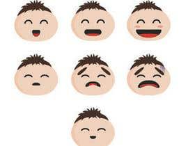 #31 for Design Seven Emoticons af AdiaDv