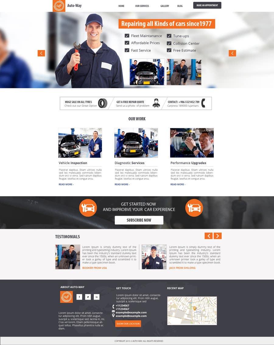 Kilpailutyö #9 kilpailussa Landing page design for marketing agency