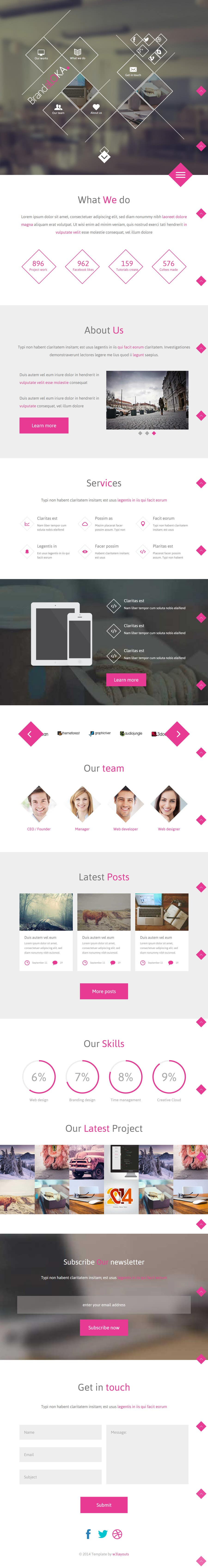 Kilpailutyö #8 kilpailussa Landing page design for marketing agency
