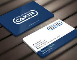 #54 para Design of a Businesscard and a letterhead for the Company CAKIR por Derard