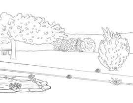 Nro 5 kilpailuun J'ai besoin d'une conception graphique pour réaliser une illustration de jardin käyttäjältä marcokap