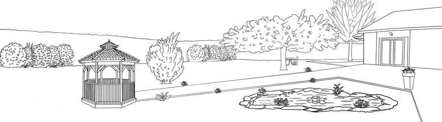 Proposition n°7 du concours J'ai besoin d'une conception graphique pour réaliser une illustration de jardin