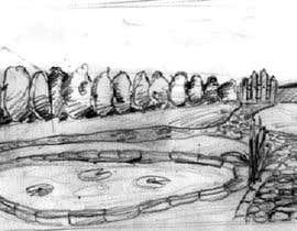 Nro 4 kilpailuun J'ai besoin d'une conception graphique pour réaliser une illustration de jardin käyttäjältä heitart