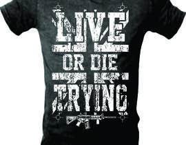 #17 untuk Design a T-Shirt print oleh mj956