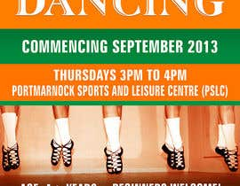 #36 untuk Design a Flyer for new Irish Dancing school oleh pris