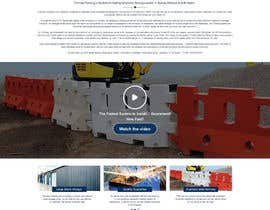 ramandesigns9 tarafından Design a Website Mockup for Fortress Fencing Building Homepage için no 4
