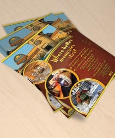 Nro 32 kilpailuun Design a Flyer/ad for center fold of a magazine käyttäjältä gmorya
