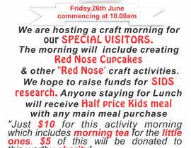 #9 for Red Nose Day Fundraising Flyer by irfanrashid123
