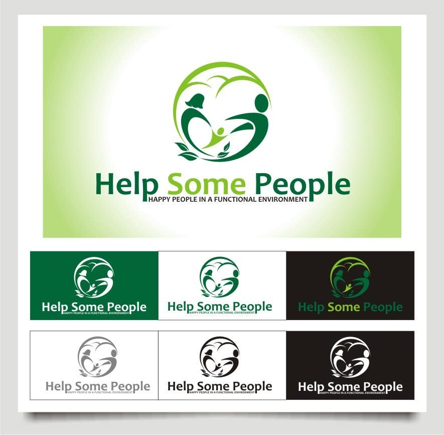 Bài tham dự cuộc thi #24 cho Develop a Corporate Identity for helpsomepeople Organization