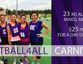 #30 for Design a Banner for Netball Carnival by avozniuk