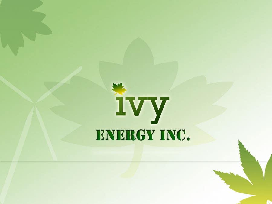Penyertaan Peraduan #132 untuk Logo Design for Ivy Energy