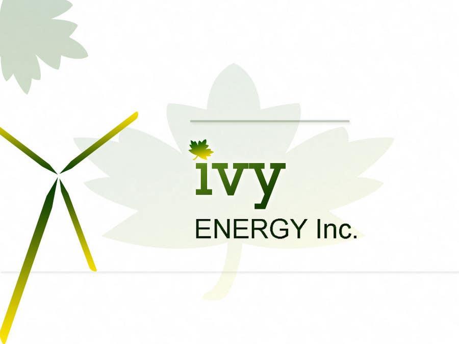 Inscrição nº                                         133                                      do Concurso para                                         Logo Design for Ivy Energy