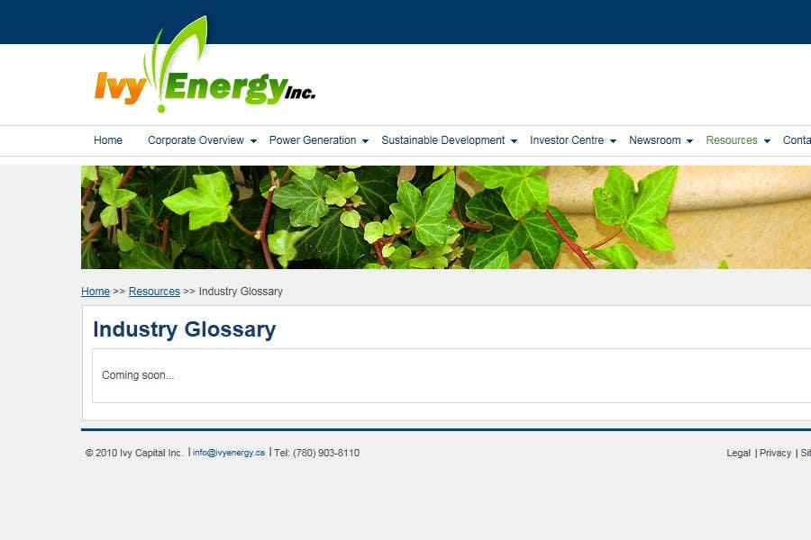 Penyertaan Peraduan #311 untuk Logo Design for Ivy Energy