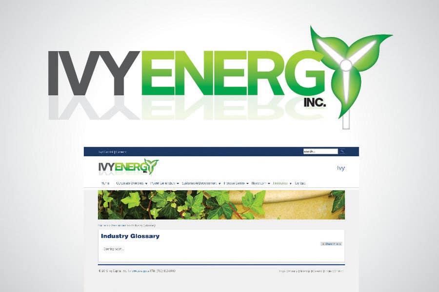 Tävlingsbidrag #201 för Logo Design for Ivy Energy