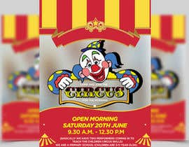 ghani1 tarafından Design a Flyer for circus open morning için no 4