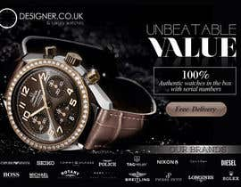 #15 for Design a Flyer for a luxury watch store by alromisa