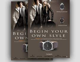 #34 for Design a Flyer for a luxury watch store by dgnGuru