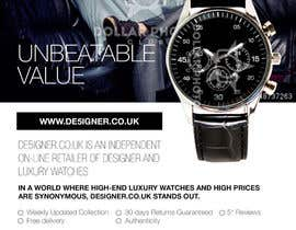 #24 for Design a Flyer for a luxury watch store by silvi86