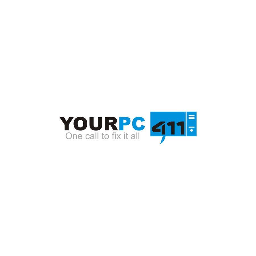 """Kilpailutyö #66 kilpailussa Design a Logo for """"Your PC 411"""""""