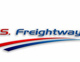 #281 para Logo Design for U.S. Freightways, Inc. por alfonxo23