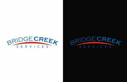 Nro 97 kilpailuun Bridge Creek Services Logo käyttäjältä hassan22as