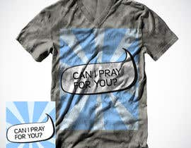 #55 for Design a T-Shirt for GodsClothesline by Christina850