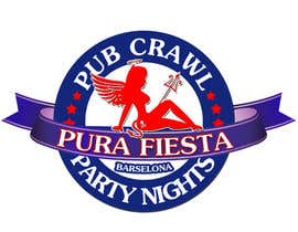 #26 para Design a Logo for Pub crawl, group party por RostykG