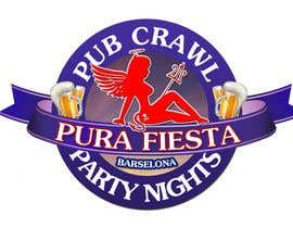 #31 para Design a Logo for Pub crawl, group party por RostykG