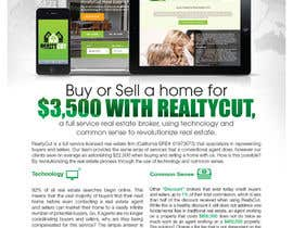 #67 for Design an Advertisement for RealtyCut af VVICK