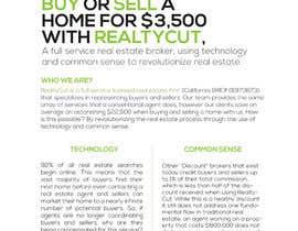 Nro 36 kilpailuun Design an Advertisement for RealtyCut käyttäjältä visualoutline