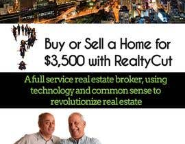 #70 for Design an Advertisement for RealtyCut af wasiq92