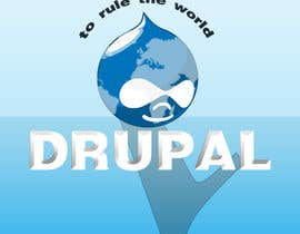 #14 para Design a Logo for Drupal Project [One] por bvsk3003